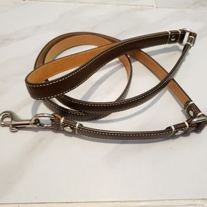 Authentic Coach Small Dog Leash NWOT